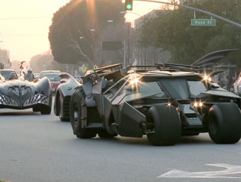 The Batmobile – Airing Tonight on the CW