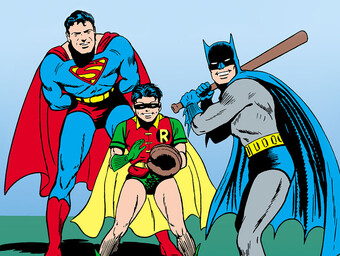 Bats at Bat: Who's on First When the Batman Family Plays Baseball?