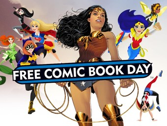 Let Free Comic Book Day 2017 Take You to Themyscira, Super Hero High and Beyond