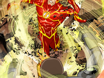 THE FLASH #8 variant