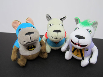 Exclusive DC Dog Plushes – Free at Comic-Con!
