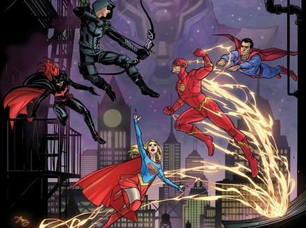 "The CW's ""Elseworlds"" Crossover Gets the DC Comic Book Treatment"