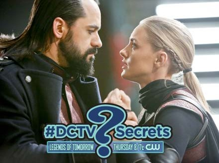 """The #DCTV Secrets of DC'S LEGENDS OF TOMORROW: Ep. 13 """"Leviathan"""""""
