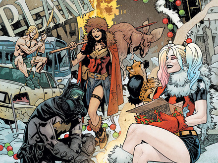 EXCLUSIVE: Deck the Halls (and Hit the Deck) with the DC Nuclear Winter Special
