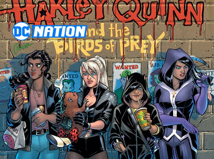 Conner and Palmiotti Return with Harley Quinn and the Birds of Prey