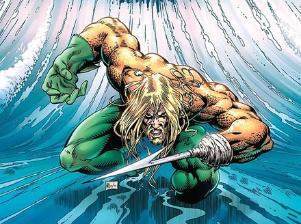 All Hail the Harpoon-Handed Aquaman