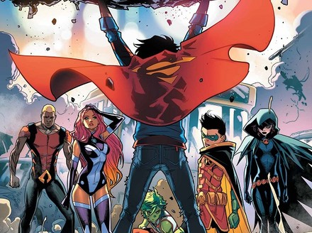 First Look: Superboy Joins the Teen Titans