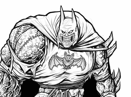 James Groman Mixes Horror with Heroism for DC Artists Alley
