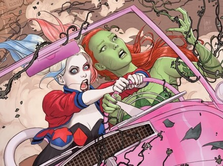 Harley Quinn and Poison Ivy is a Raucous Road Trip to Redemption