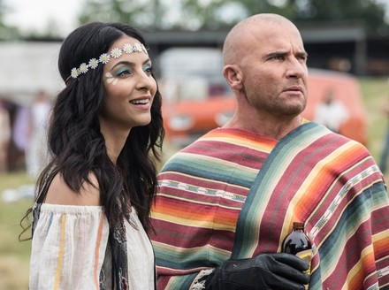 DC's Legends of Tomorrow: The Waverider Goes to Woodstock in New Pics