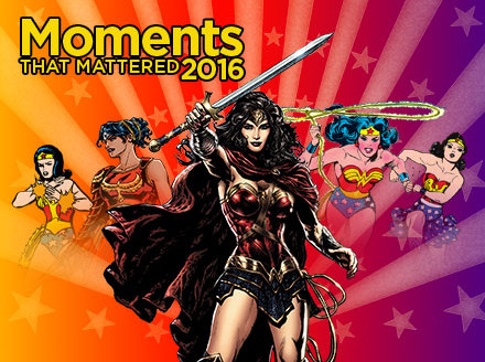 Ten Moments that Mattered: Wonder Woman Celebrates her 75th Anniversary