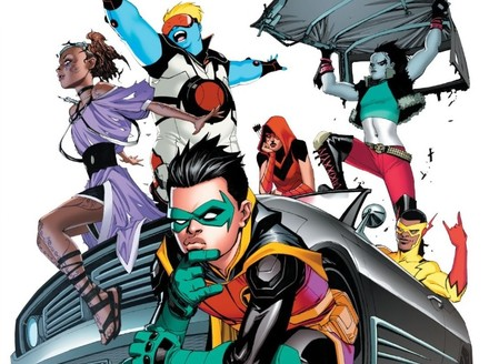 DC's Newest Teen Titans Go Full Throttle