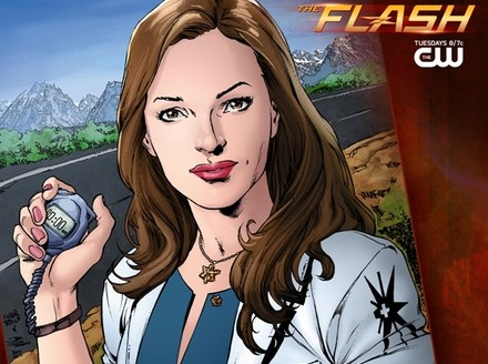 The Flash: Caitlin Snow Gets Carded