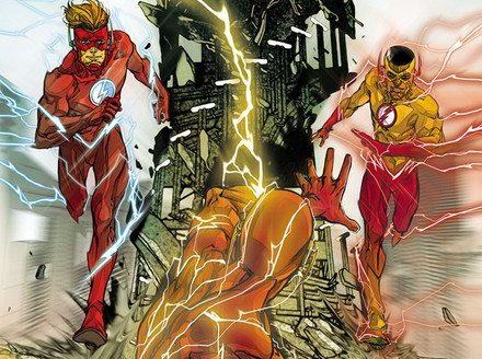 The Flash: When Wally Met Wally...