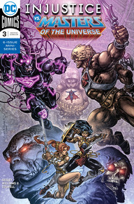 INJUSTICE VS  MASTERS OF THE UNIVERSE #3 | DC