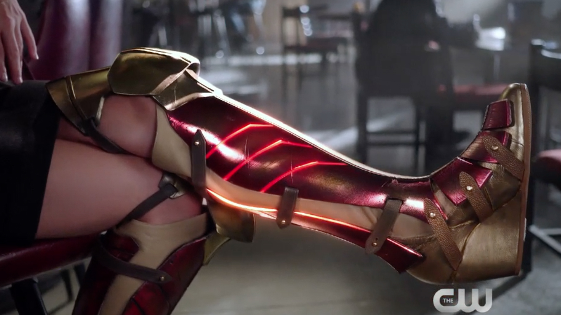 How To Make Wonder Girl Shoe Covers