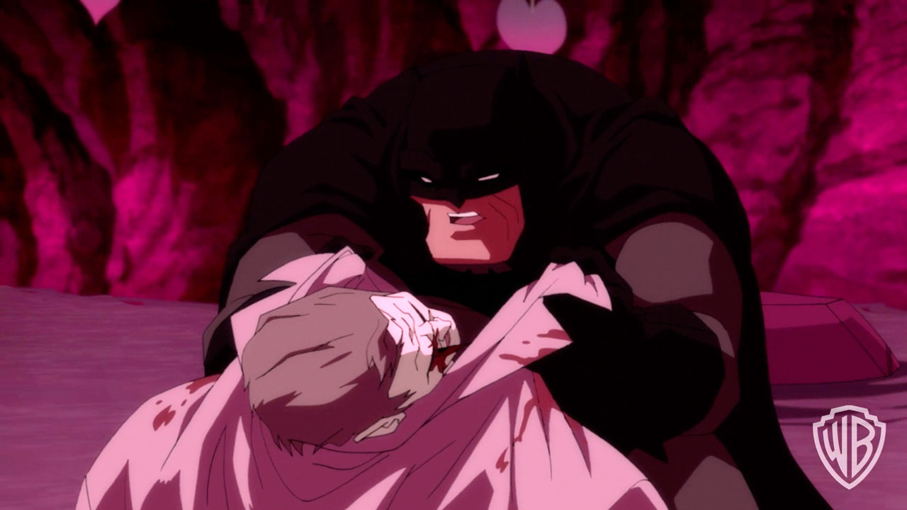 "Batman: The Dark Knight Returns, Part 2 - ""Love You For It ..."